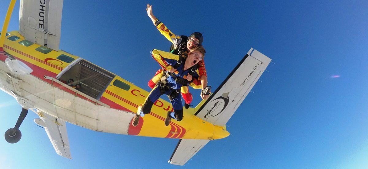 parachutisme victoriaville